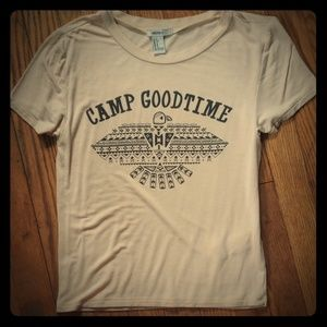 Camp Goodtime Forever 21 tee Small